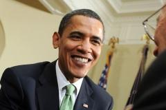 Obama Greets